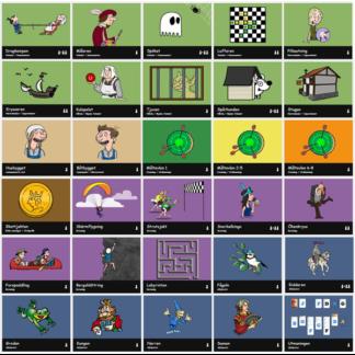 Pedagogiska webbspel