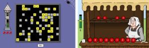 Exempel från webbspelet Tivoli