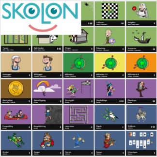 Webbspel Skolon
